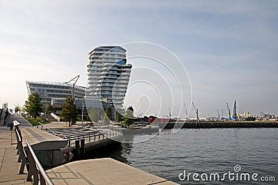 Hafencity  Hamburg Editorial Stock Image