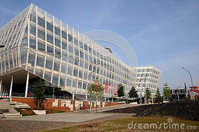 Hafencity Hamburgo Fotografia Editorial