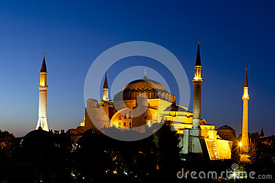 Hagia Sofia in Istanbul, Turkey