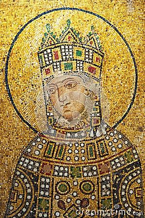 Hagia Sofia mosaic 01