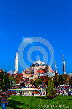 Hagia sophia Editorial Photography