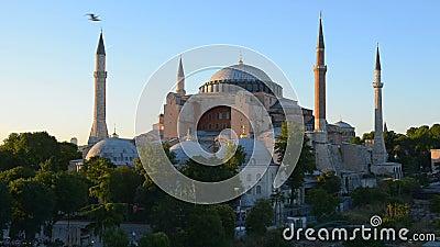 Hagia Sophia em Istambul video estoque