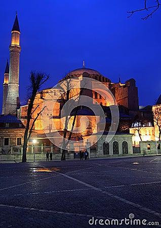 Free Hagia Sophia In Istanbul Royalty Free Stock Photos - 15595748