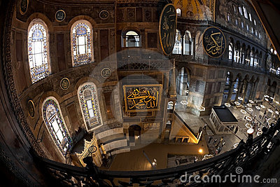 Hagia Sophia - Istanbul Editorial Photo