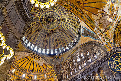 Hagia Sophia - Istanbul Editorial Stock Photo
