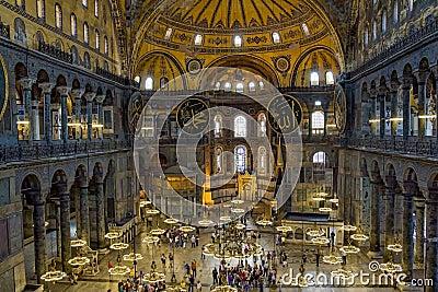 Hagia Sophia - Istanbul Editorial Photography