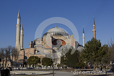 Hagia Sophia Editorial Stock Image