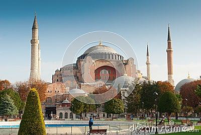 Hagia sophia mosque exterior