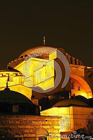 Hagia Sophia night closer