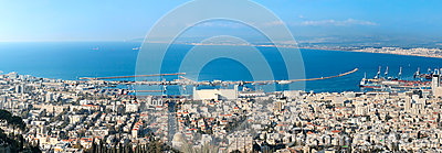 Haifa city. Israel