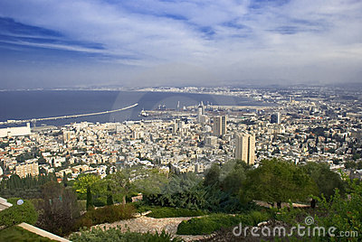 Haifa city from Israel