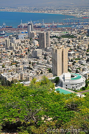 Haifa city. Nothern Israel.
