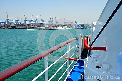 Haifa sea port