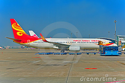 Hainan airlines Editorial Stock Photo