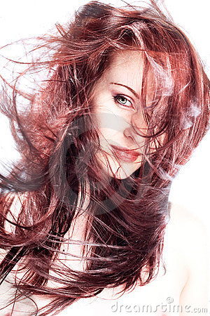 Free Hair! Royalty Free Stock Photography - 2030957