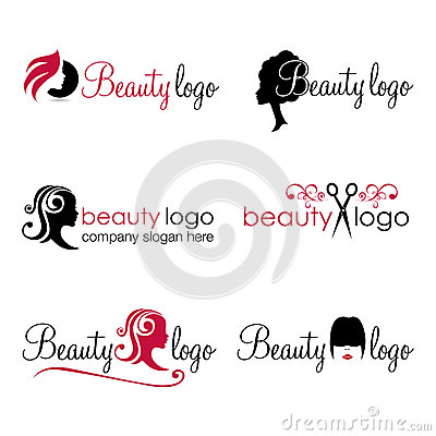 Free Hair And Beauty Logos (vector) Stock Photos - 33247693