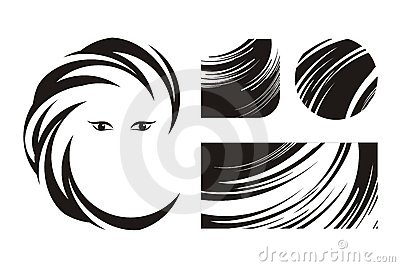 Hair and beauty Logos or Icons