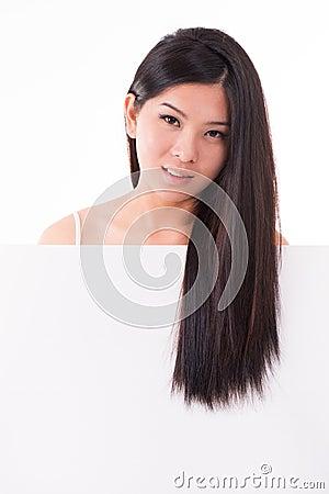 Hair care concept placard