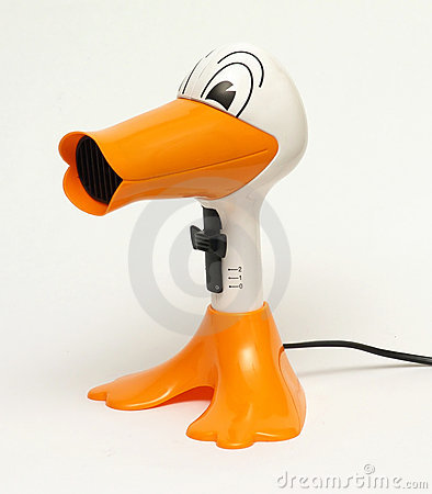 Free Hair Dryer Duck Stock Images - 1940594
