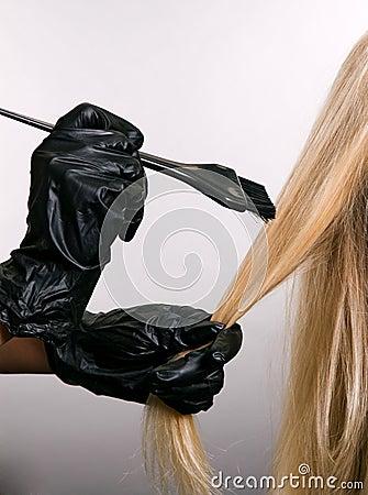 Free Hair Dye Stock Image - 6724461