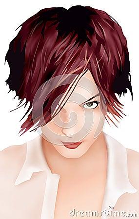 Free Hair Fashion Royalty Free Stock Photography - 737717