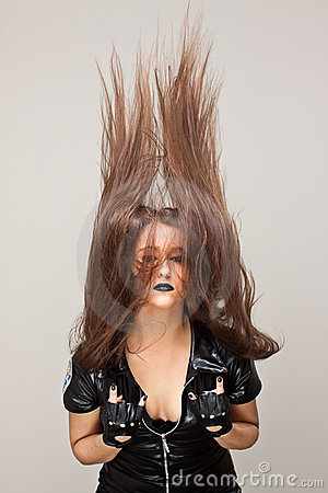 Hair Horns Stock Photo - Image: 21441350