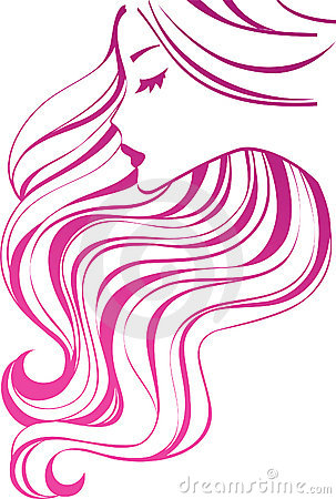Free Hair Icon Royalty Free Stock Photo - 16541405