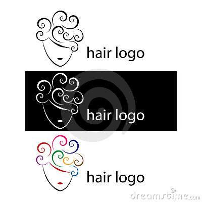 Free Hair Logos Royalty Free Stock Photography - 14791117
