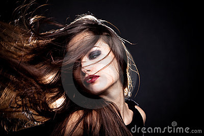 Hair motion