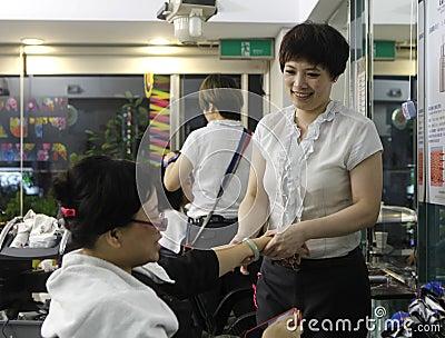 Hair salon Editorial Photography