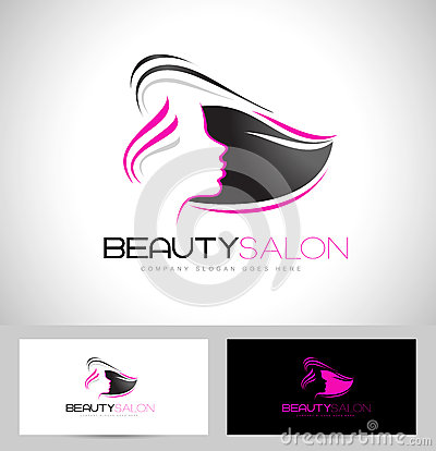 Hair salon logo stock vector image 53386006 for Abstract beauty salon