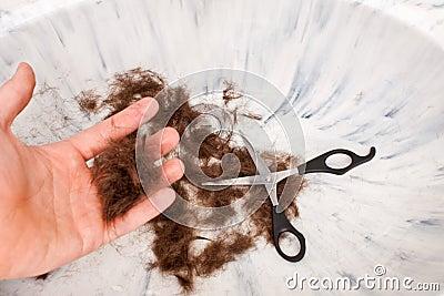 Hair Scissors Hand