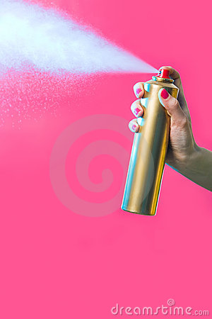 Free Hair Spray Royalty Free Stock Images - 8717489