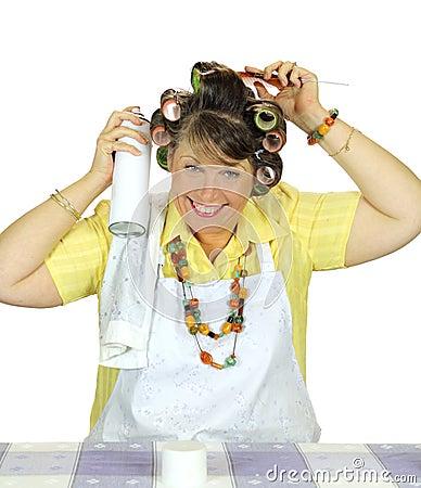 Hair Spray Housewife