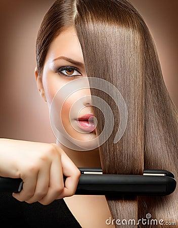 Free Hair Straightening Irons Stock Photography - 25698132