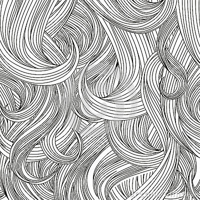 Free Hair Style Background. Vector Set. Stock Photography - 34955692