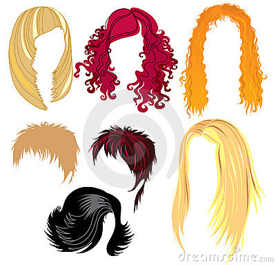 Hair style samples