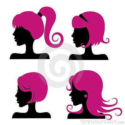 Free Hair Styles Royalty Free Stock Photos - 13973658
