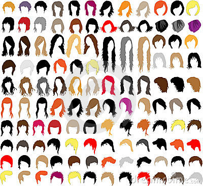 Free Hair Styles Stock Images - 19626164