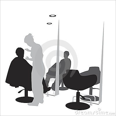 Stock Photos: Hair styling salon