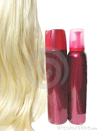 Hair wave mousse and spray for making coiffure