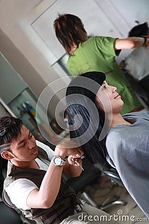 Haircut hairsyle