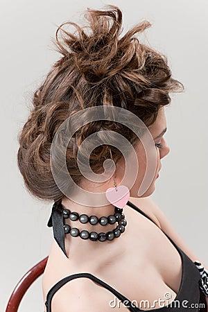 Free Hairdo Royalty Free Stock Photo - 23257705