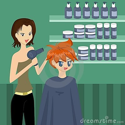At the Hairdresser s