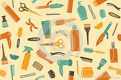 Hairdressers background