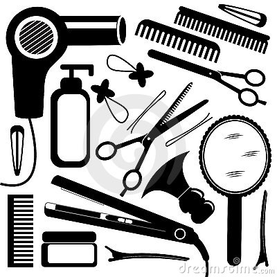 Hairdressing Equipment Royalty Free Stock Image - Image: 18994896
