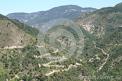 Hairpin Bends.