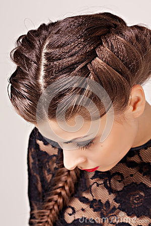 Hairstyle portrait