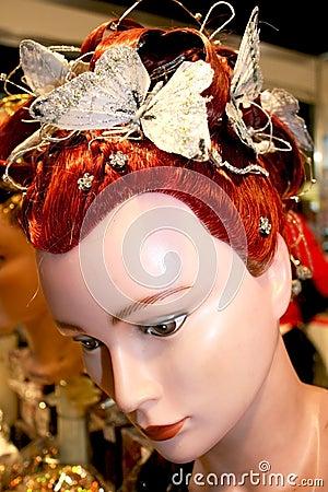 Hairstyles mannequin