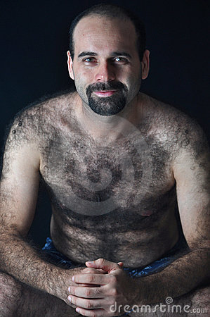 Hairy Man Royalty Free Stock Photography Image 18126607